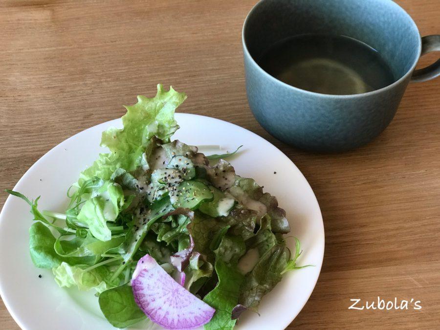 """鹿の舟 """"囀 (サエズリ)"""" のサラダ"""