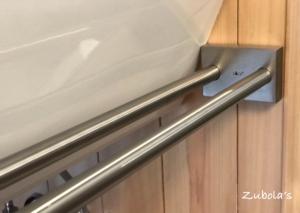"""タオルバーで迷ったら """"ZACK"""" ステンレス製ハウスウェアの専業メーカー!"""