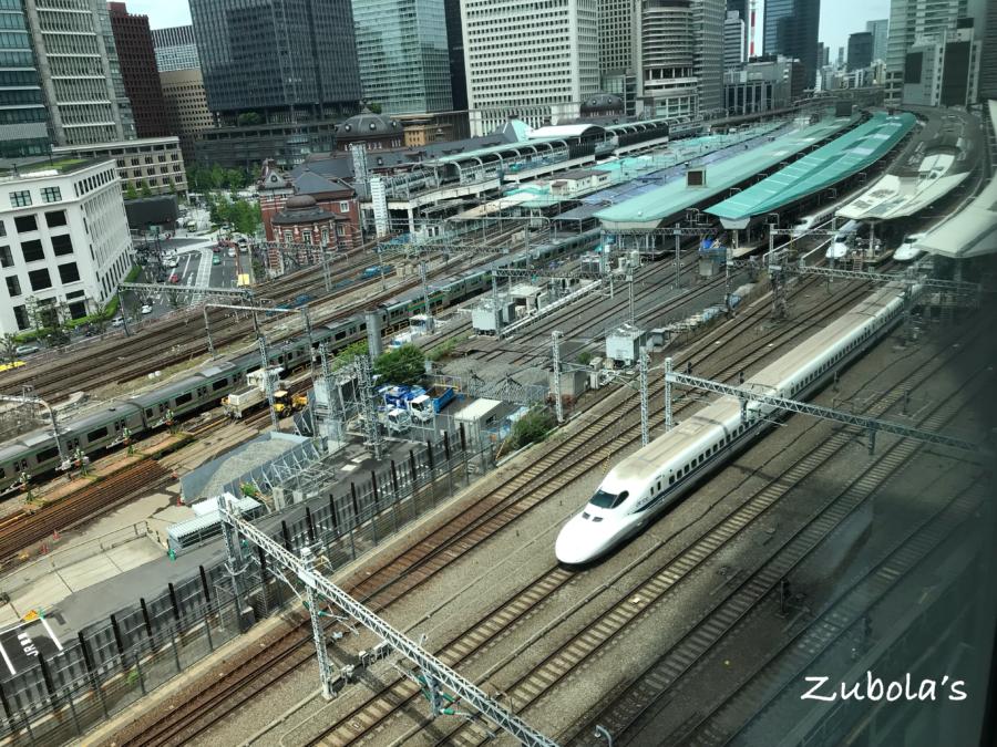 MOTIF(モティーフ)新幹線を見下ろせるフレンチのお店@丸の内