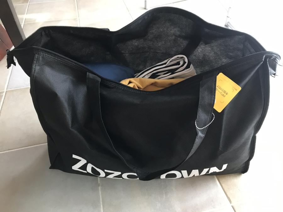 ZOZOから送られてくる袋に古着を詰めるだけ