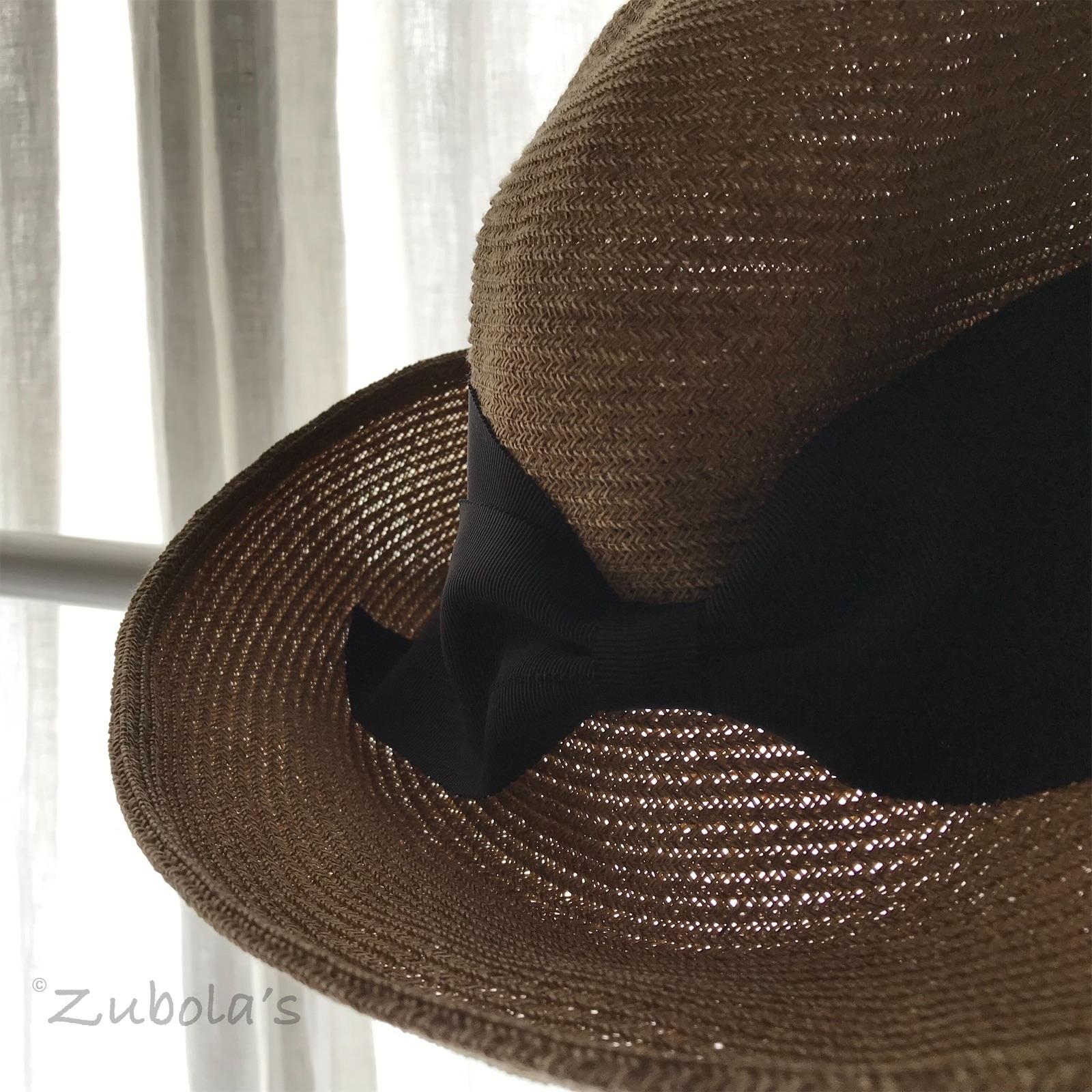 """洗えるペーパー""""麦わら帽子""""は、軽くて、涼しくて、飛びにくい。"""