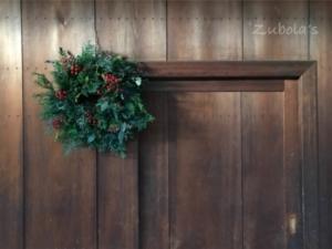 針葉樹香るクリスマスリース@toshie fukuokaさんの花会