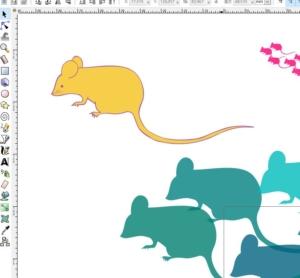 今年の年賀状作成に使った無料ソフト「Inkscape」「Perfect Image」